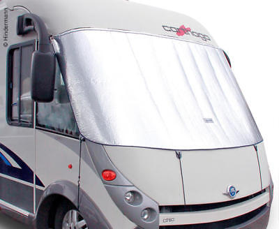 Front Window Insulation Heat + Cold Protection for Integrated Travel Mobile,