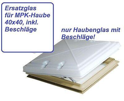 Dachhaube, Dachluke Dachlüfter, nur Haubenglas f. 40×4…  