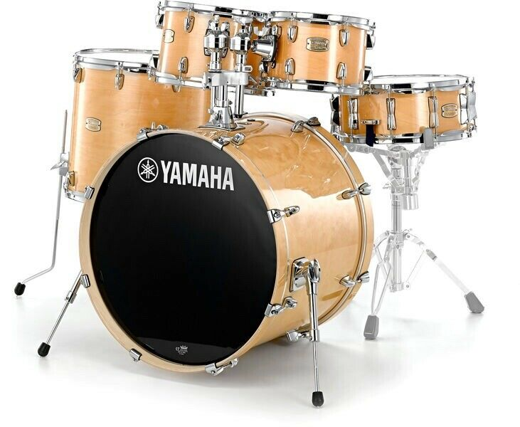 """Yamaha Stage Custom Birch 5-Piece Shell Pack with 20"""" Bass Drum Natural Wood"""