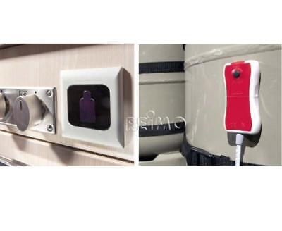 Gasflaschen Füllstandsanzeige externe LED Anzeige mit Kabel, Gaslevel GASLOCK Externe Stand