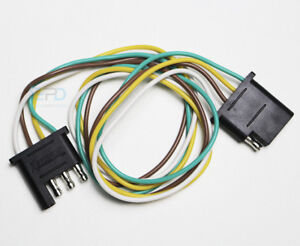 Wondrous 4 Pin Trailer Connector Ebay Wiring Cloud Oideiuggs Outletorg