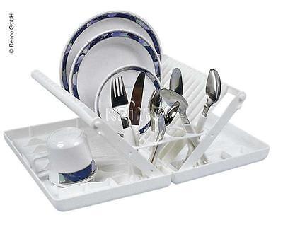 Tellerhalter / Geschirr-Trockner, klappbar, Kunststoff weiß