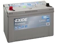 Car battery Heavy duty almost new.