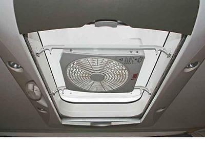 RV Fiamma Turbo Kit 12V roof hatch fan - caravan  motorhome - gets AIR in & out