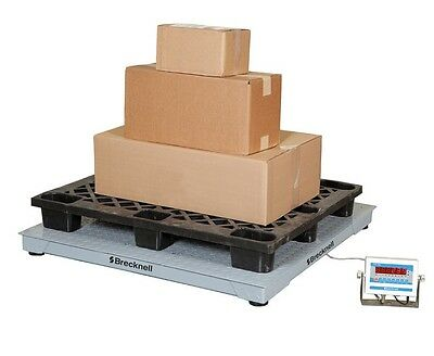 Salter Brecknell Dsb 5000lb Weighing Floor Scale System 48x48
