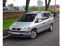 2001 Vauxhall Zafira Comfort 1.8 7 Seater Low Mileage Service History 12 Months MOT