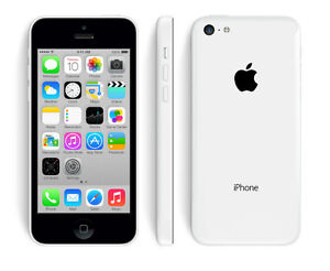 Apple iPhone 5C, 16GB, White, Bell/Virgin (NEW Warranty Replacem
