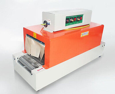 Free Shipping 220v Thermal Heat Shrink Packaging Machine Tunnels For Pof Pvc M
