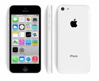 Iphone 5c white with Black Otterbox