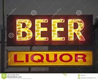 Beer liquor delivery drivers needed