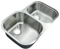 Neuf/New Éviers sous plan - Stainless 304 16G Undermount sink