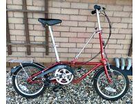 Folding bike by Dahon