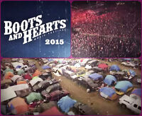 BOOTS AND HEARTS 2015 - ONE (1) GA FULL EVENT TICKET