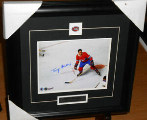 Terry Harper Autographed hockey picture - $60