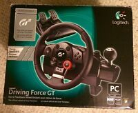 NEW Logitech Driving Force GT Steering Wheel PS3 PS4 PC USB