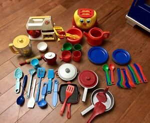 Wooden toy kitchen set Kitchener / Waterloo Kitchener Area image 4