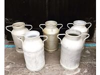 Selection of Quirky Milk Churns