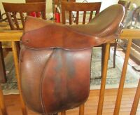 Ansur Dressage Saddle also good for trail