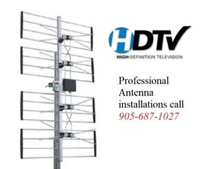 "Professional HD TV Antenna Installation ""Bill Killer"" Package!"