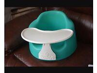 Unisex Aqua Green Bumbo With Play Tray