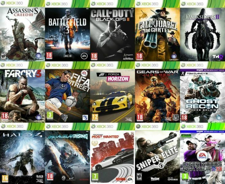 Xbox 360 Games [D] º°o Buy o°º Sell º°o Trade o°º