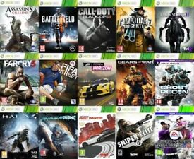 30+ XBOX 360 GAMES MESSAGE FOR DETAILS GOOD CONDITION INCLUDE FIFA GTA AND COD