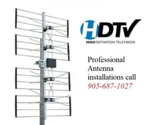 "Professional HD TV Antenna Installation ""Bill Killer"" Package"
