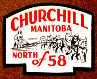 Churchill Manitoba North of 58 Large Jacket Patch
