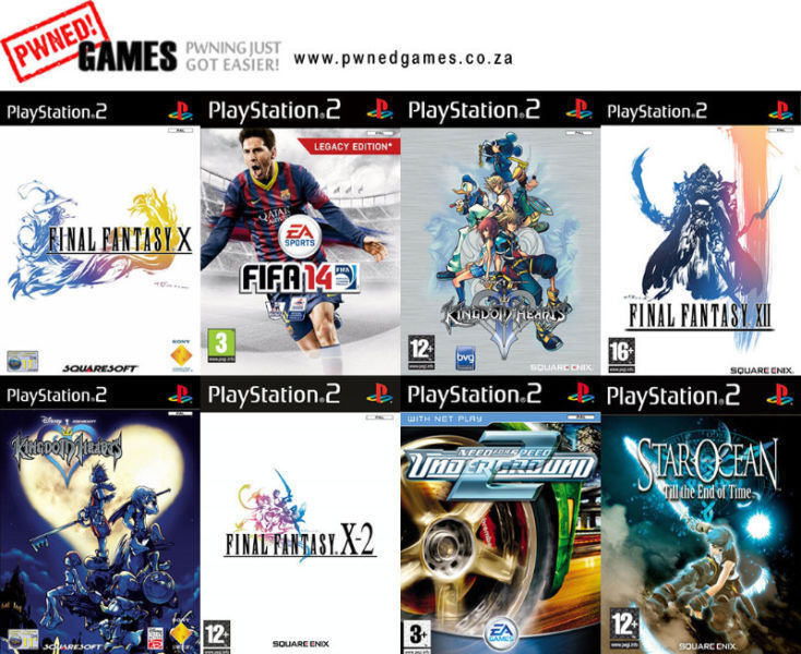 PS2 Games [T-Z] º°o Buy o°º Sell º°o Trade o°º