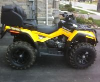 Can am outlander max 800 r 2012 $10000 OBO