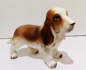 Basset Hound Puppy Dog Figurine