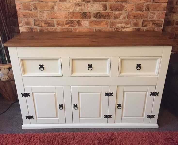 Mexican Pine Corona Large Sideboard In Sandwell West