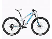 "20% off RRP - Trek Fuel EX 9 29 Full Suspension MTBike 2017 - 19.5"" - Matte Quicksilver"