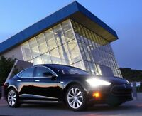 Ride in a Tesla Model S