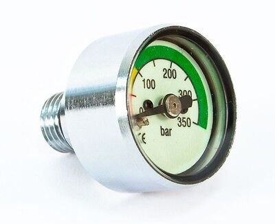 Poseidon Mini Manometer 300 Bar Finimeter für Atemregler - NEU v. Fachhandel !!!