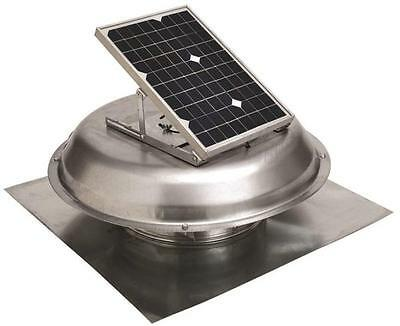 NEW GAF MASTER FLOW PRSOLAR USA  ROOF MOUNTED SOLAR POWERED ROOF VENT 5997077