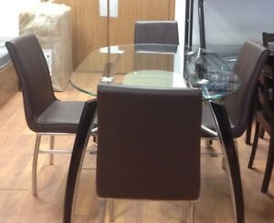 Brand new 5 pc dinette set on sale $698 only+FREE DELIVERY  Regina Regina Area image 1