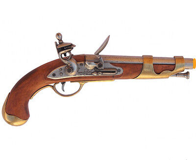 Denix French Cavalry Flintlock Pistol 1801 Lewis & Clark Napoleonic Era  1101