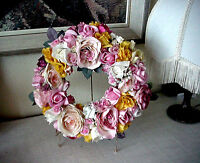 Hand Made Romantic Decor Wreath