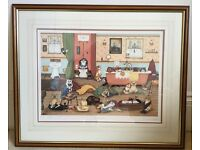 Linda Jane Smith IT'S A DOGS LIFE Limited Edition of 600 Print