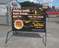 Full Colour Mobile Signs