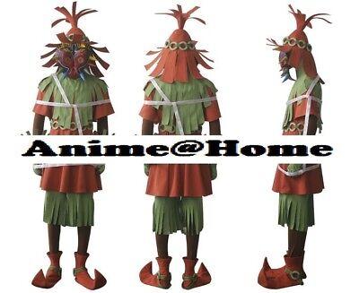 end of Zelda Majora's Mask 3D The Skull Kid Cosplay Costume (Skull Kid Costume)