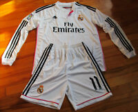 Jersey soccer + Short REAL MADRID 2015 - BALE - HOME - LS