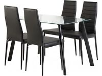 Brand new dinning set table and 4 chairs
