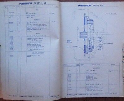 Towmotor Forklift Parts List Operations Model Lt56 Dated 1944
