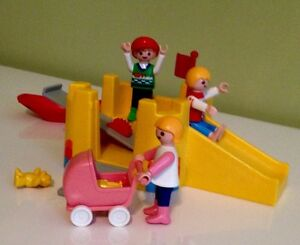 Playmobil Playground and Toys with 3 Children Figurines