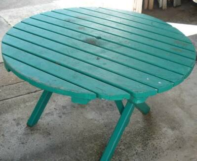 Heavy Duty Outdoor Bbq Dining Table Picnic Table