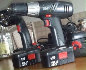Craftsman drill and Lamp