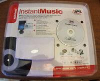 INSTANT MUSIC ensemble pour transferrer vos disques vinyls