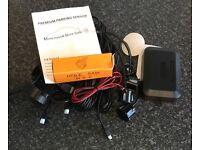 Parking sensors black gloss